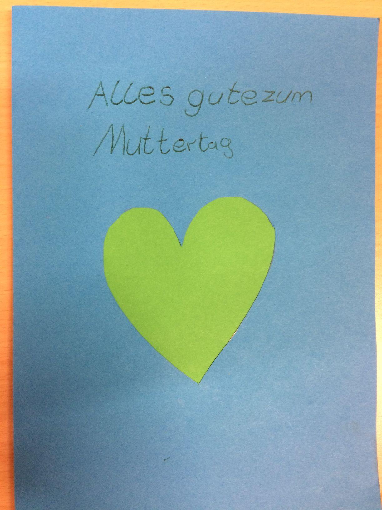 Muttertagskarten Basteln.Wir Basteln Muttertagskarten Grundschule Mit Tagesheim An